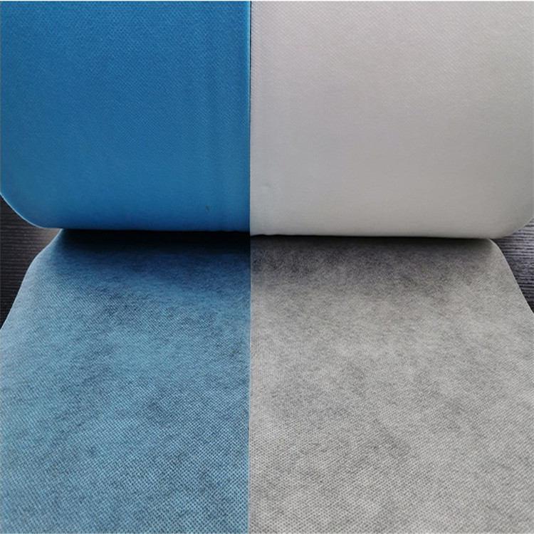 厂家供应 蓝白无纺布 口罩布 可定制批发
