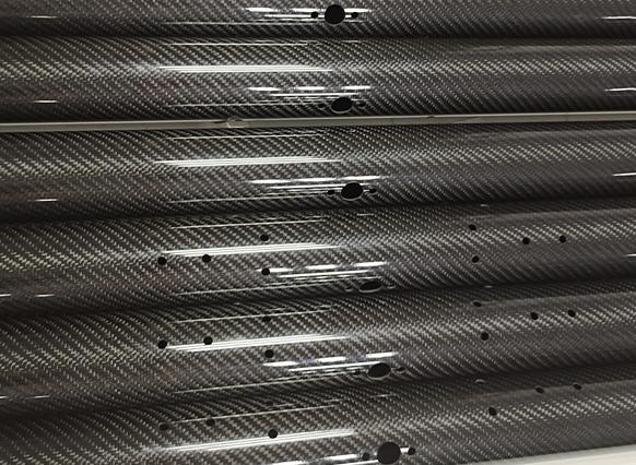 碳纤维管CNC打孔精加工  碳纤维园林工具管