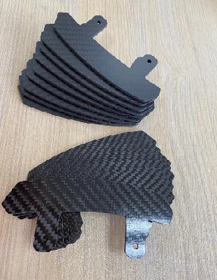 3K高强度碳纤维板  碳纤维汽车飞机零配件  电动汽车自行车配件