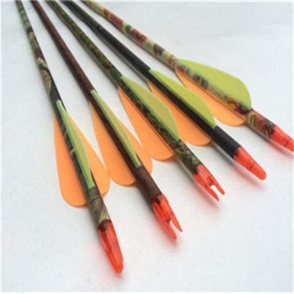 全碳纤维箭杆  碳素木纹迷彩箭杆